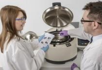 Scientific use of a centrifuge