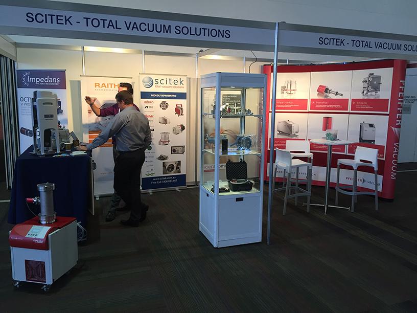 ICONN 2016 - Scitek Booth - Nanotechnology Australia